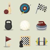 Sport icone. — Vettoriale Stock