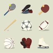 Sport pictogrammen. — Stockvector
