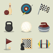 Sport icons. — Vector de stock