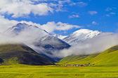 Nanshan peaks — Stock Photo