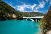 Lac de Castillon — Stock Photo