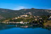Lac de Castillon in Saint-Julien — Stock Photo