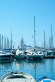 Sailingboats in Cannes — Stock Photo