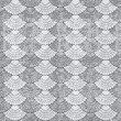 Abstract seamless pattern in gray — Stock Photo