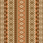 Geometrical ornamental pattern african style — Stock Vector