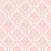 Classic wallpaper in pink — Stock Vector