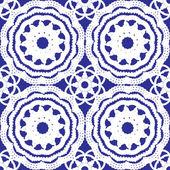 Crochet lace pattern — Stock Vector