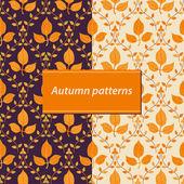 秋の背景 — ストックベクタ