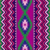 Geometric ethnic ornament — Stock Vector