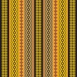 African traditional ornamental fabric texture — Stock Vector