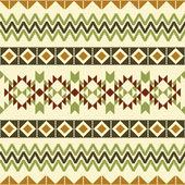 Geometric textile ornament — Stock Vector