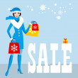 Royalty-Free Stock Vector Image: Christmas sale