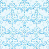 Light blue classic ornamental wallpaper — Stock Vector