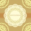 Vintage invitation card — Stock Vector #20665327