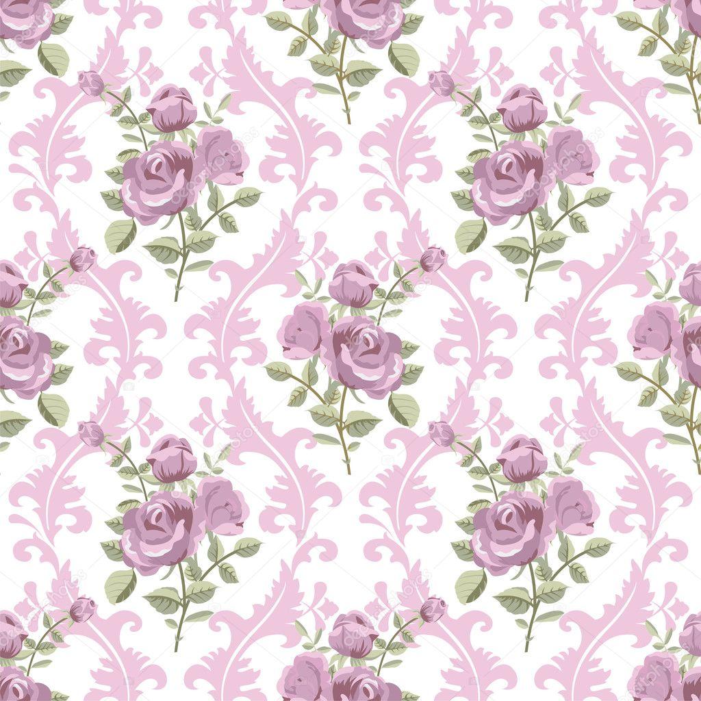 rosa tapete stockvektor irmairma 21580165. Black Bedroom Furniture Sets. Home Design Ideas