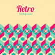 Retro background — Stock Vector