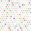 Colorful dotted seamless pattern — Vetorial Stock #23202230