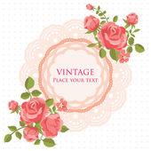 Carta di fiore — Vettoriale Stock