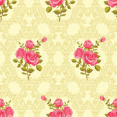 Rose pattern — Stock Vector
