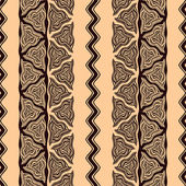 Seamless pattern in african style — Stockvektor