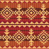 Navajo style pattern — Stock Vector