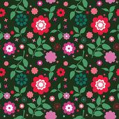 Flowers pattern — Stock Vector