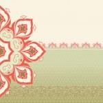 Decorative ornamental card — Stock Vector #26551637
