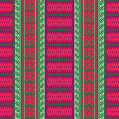 Ethnic textile pattern — Stock Vector
