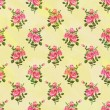 Rose seamless pattern — Stock Photo