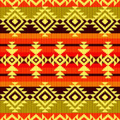 Tribal geometric striped pattern — Stock Photo