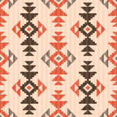 Seamless textile pattern in native american style — Stock Vector