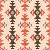 Modèle sans couture textile style amérindien — Vecteur