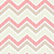 Stock Vector: Seamless chevron pattern in light pastel colors