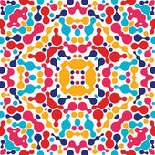 Abstract kaleidoscopic pattern — Stok Vektör
