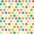 Colorful dots abstract background — Imagens vectoriais em stock