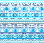 Christmas traditional ornament — Stock Vector
