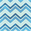 Chevron pattern in blue — Stock Vector