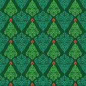 Christman seamless pattern — Vector de stock