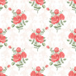 Rose classic pattern — Stock Vector #36062829