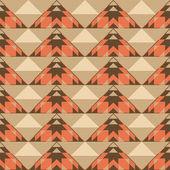 Ethnic geometric seamless pattern — Stock Vector