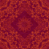 Decorative arabesque ethnic pattern — Stock vektor