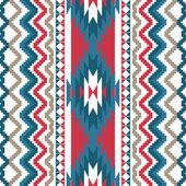 Ethnic textile seamless background — Stockvektor