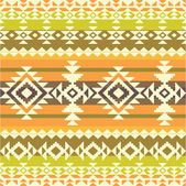 Tribal abstract striped pattern — Vector de stock