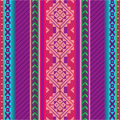 Ethnic textile pattern — Stock Vector