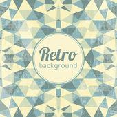 Abstract kaleidoscopic retro background — Stock Vector