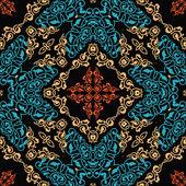 Decorative ornament, seamless pattern — Stock Vector
