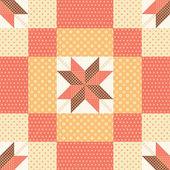 Motif patchwork — Vecteur