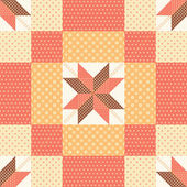 Patchwork pattern — Stock Vector