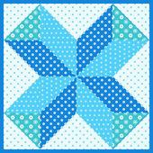 Patchwork motif — Vecteur
