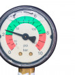 Stock Photo: Pressure gage